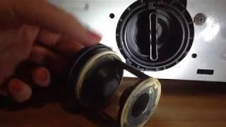 Подтекает фильтр у стиральной машины. Что делать?  2.Стиральная машина гудит,но не работает