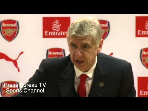 Arsene Wenger reaction Arsenal vs QPR