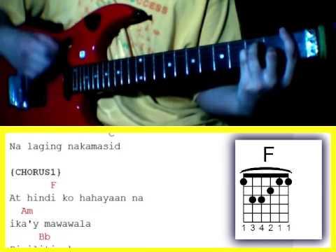 Pangako by Cueshe - Guitar Chords - YouTube