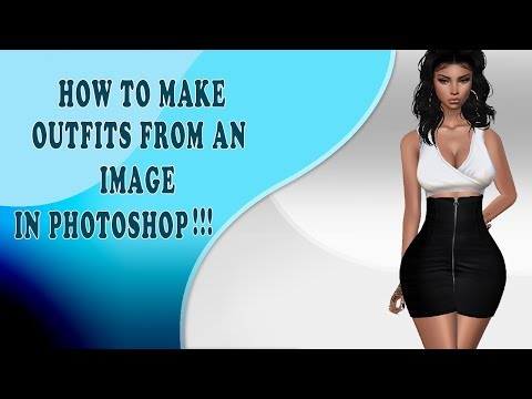 IMVU TUTORIALS - HOW TO MAKE OUTFITS USING A PICTURE