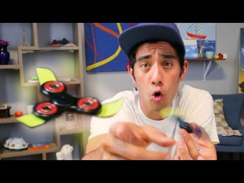 ZACH KING - MAKE YOUR FIDGET SPINNER FLY AND LEVITATE TRICK