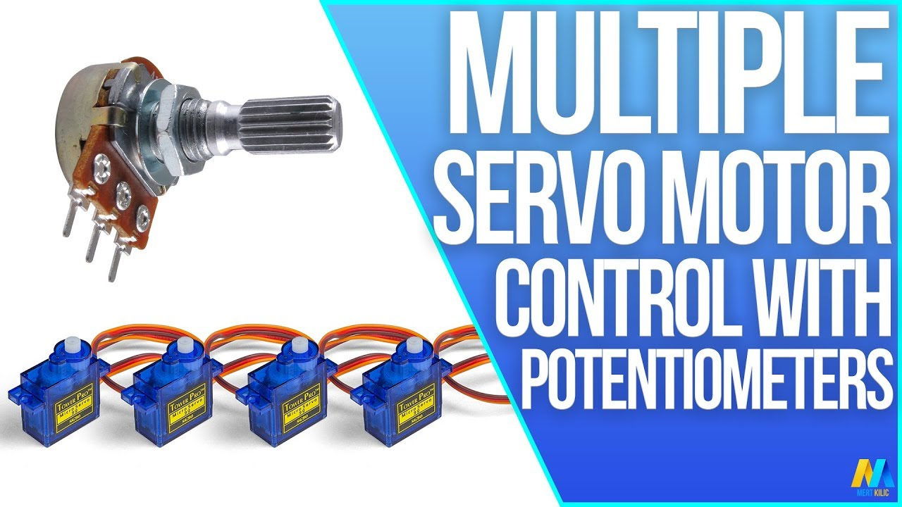 Arduino Tutorial Multiple Servo Control With A Potentiometer Youtube Pulser Tester Testing Servos Pwm