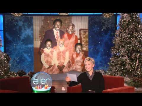 Ellen Found Some Bad Holiday Pos!