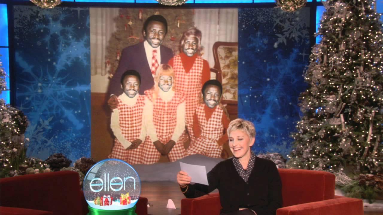 Ellen Found Some Bad Holiday Photos! - YouTube