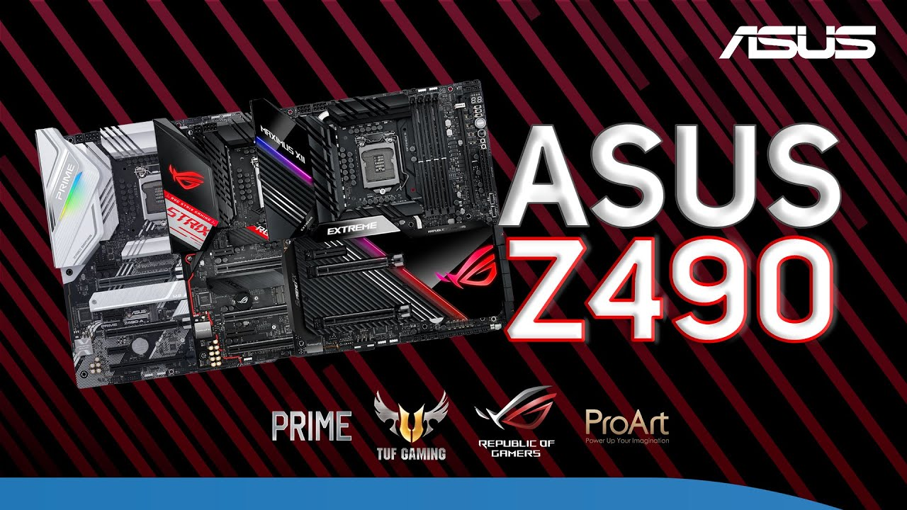 ASUS Z490 Motherboard buyers guide - Covering the full range of Specs & features before you buy!