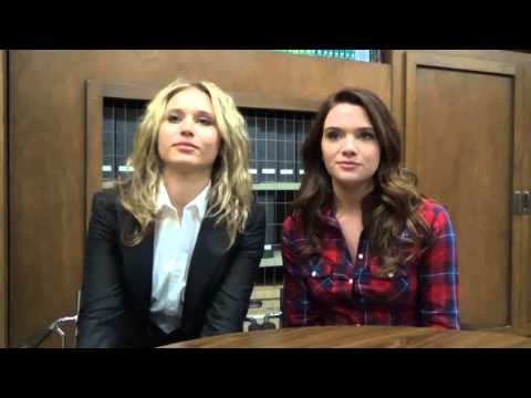 From the set...'Faking It' stars Rita Volk & Katie Stevens tease Season 2B