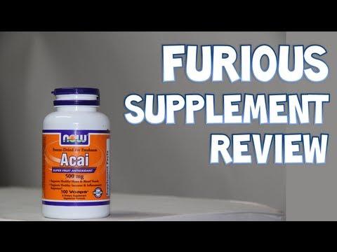 Now Acai Antioxidant Super Fruit Supplement Review | Furious Supplement Reviews