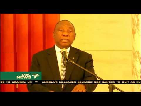 Cyril Ramaphosa meets Mozambican leader Filipe Nyusi
