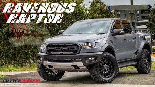 🦖 RAVENOUS RAPTOR 🦖 // Ford Ranger Raptor Aftermarket Wheels, Tyres, Roll R Cover, LED Bar & More
