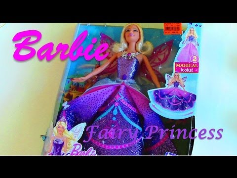 Barbie Mariposa and the Fairy Princess (Catania Doll) - Barbie Doll Collection by Mattel
