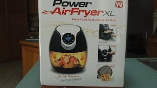 """Review of POWER AirFryerXL """"As Seen On TV"""""""