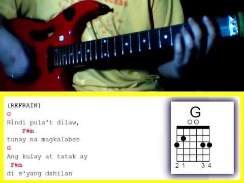 Tatsulok By Bamboo Guitar Chords Youtube