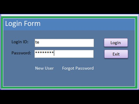 Login / Register / Reset Password Form By Security Qeustions