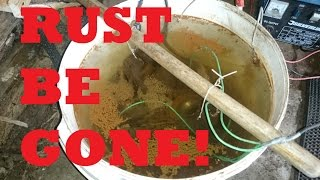 HOW TO: rust removal, cleaning car parts