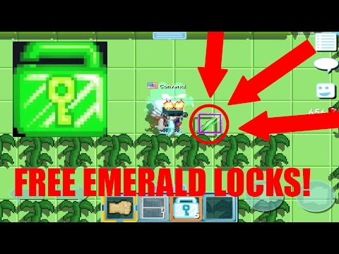 Growtopia - HOW TO MAKE 8 WLS/MINUTE!?!? (EMERALD LOCK/SHARDS)