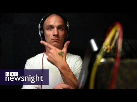 Inside the world of pirate radio - Newsnight