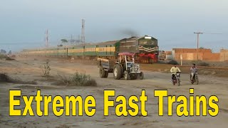 Pakistan Railways | Best Extreme Fastest Trains 2018 | Entertainment worldz
