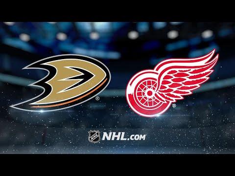 Larkin, Howard lead Red Wings to 2-1 win vs. Ducks