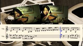 Sherlock BBC - VIOLIN COVER w/ sheet music (1-minute short)