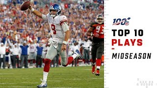 New York Giants' Top 10 Plays at Midseason! | 2019 NFL Highlights