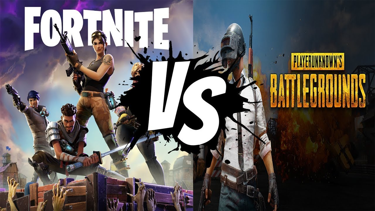 Pubg V Fortnite: PUBG Vs Fortnite: Battle Royale