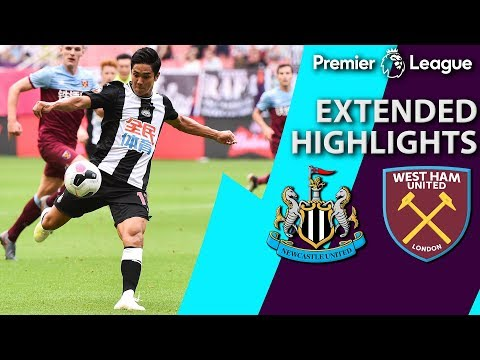Newcastle v. West Ham | PREMIER LEAGUE ASIA TROPHY EXTENDED HIGHLIGHTS | 7/20/19 | NBC Sports
