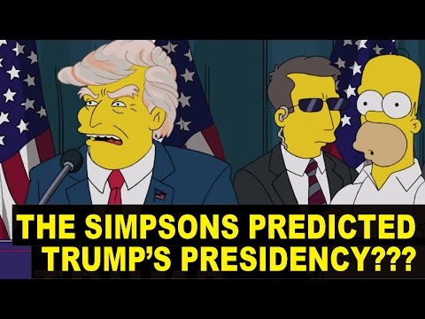 How The Simpsons and Others Predicted PRESIDENT TRUMP Back in 2000