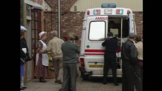 Coronation Street - Brendan's Dead Body Gets Taken Away by the Ambulance