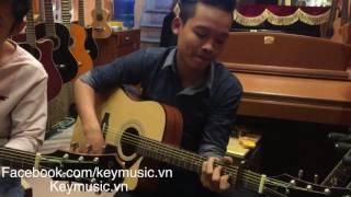 Canon In D - Key Music (test Epiphone AJ 100C)