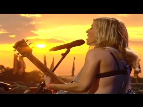 Ellie Goulding - Guns & Horses - Acoustic Sunset Mix - Glastonbury 2014