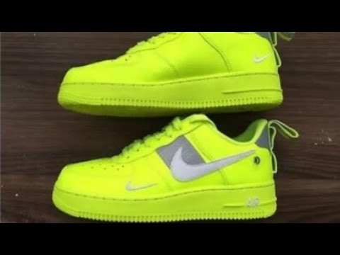 Nike Air Force utility 8 uk neon unboxing YouTube