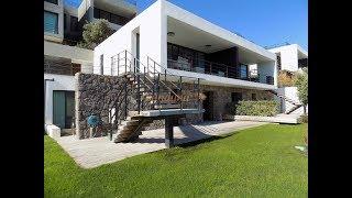Bodrum Yalıkavak'ta Denize Sıfır Sitede Deniz Manzaralı Havuzlu Bahçeli  4+1 Villa