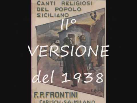 CANZONE DI NATALE - Canti religiosi del popolo Siciliano 1893 - Francesco Paolo Frontini
