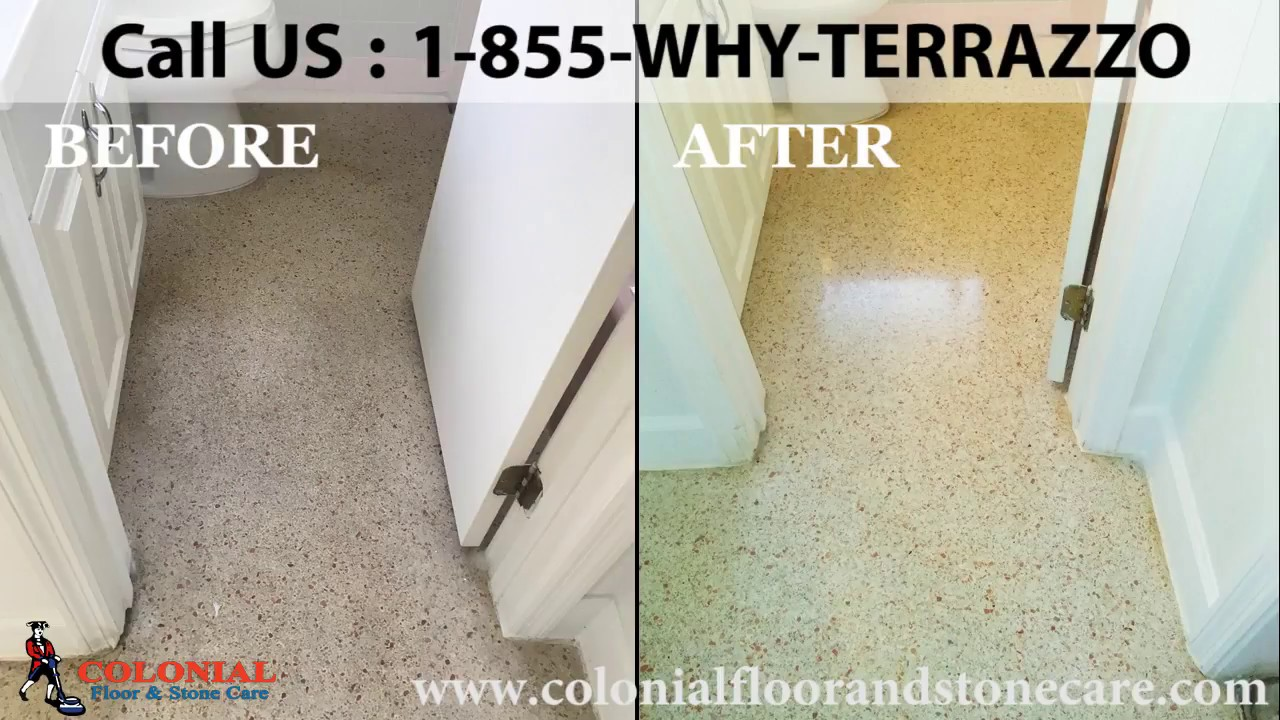 Choose Floor Polishing Restoration In Miami For Your Terrazzo - How to care for terrazzo floors