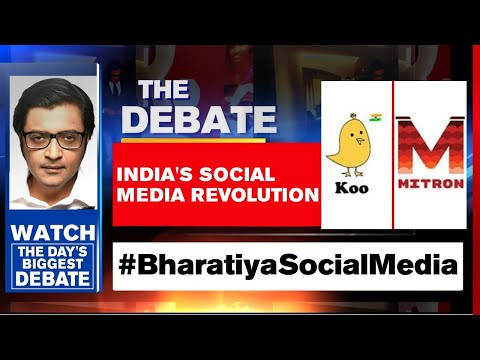 It's Time For An Aatmanirbhar Social Media Wave   The Debate With Arnab Goswami