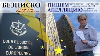 ГОТОВИМ АПЕЛЛЯЦИЮ - Безниско: Искусство сопротивления, часть 6