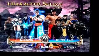 Mortal Kombat shaolin monks todos lo personajes