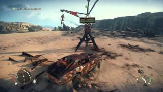 Mad Max Collect the Jag Tip and destroy the scarecrows