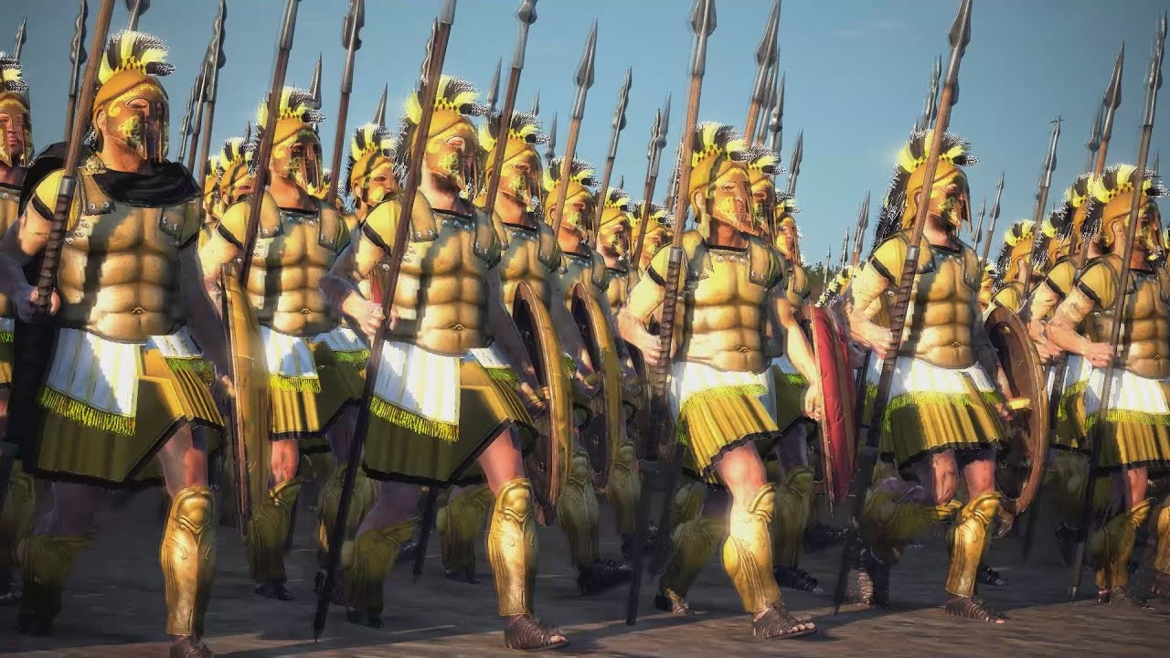 The Sacred Band of Thebes - Legendary War Units