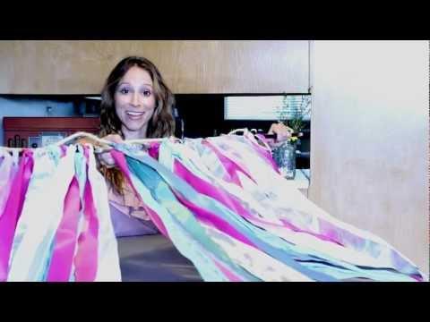 Make Your Wedding Decor: Custom Ribbon Banner