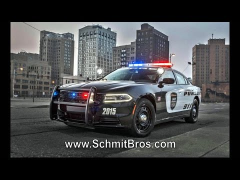 Charger Police vehicle with 12.1 inch Uconnect screen