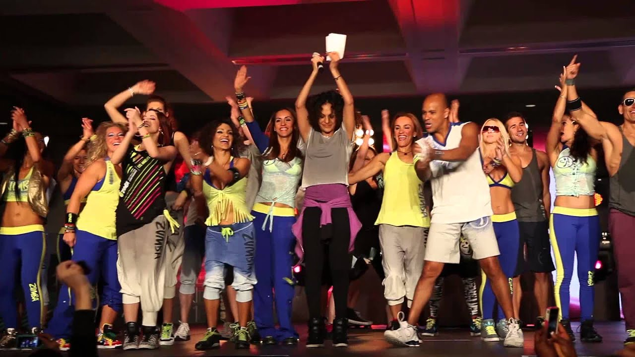 2013 Zumba Instructor Conference in LA - YouTube