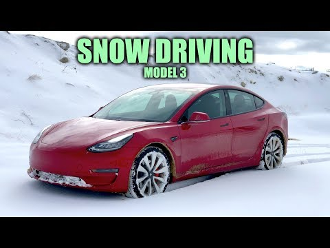 How Does The Tesla Model 3 Handle Snow?
