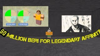 Second attempt at legendary infinity-One Piece Legendary-Roblox
