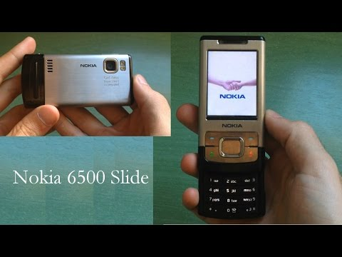 Nokia 6500 Slide review (old ringtones + download)