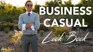 Men's Business Casual: 3 Killer Outfits To Wear To Work 😎
