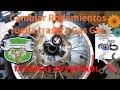 Tutorial: Como cambiar rodamientos rueda trasera Gas Gas EC
