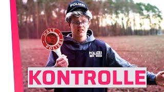 Wenn man von der Polizei kontrolliert wird.
