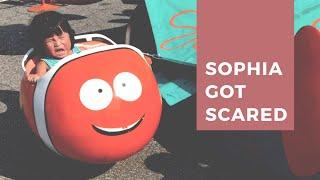 SOPHIA GOT SCARED