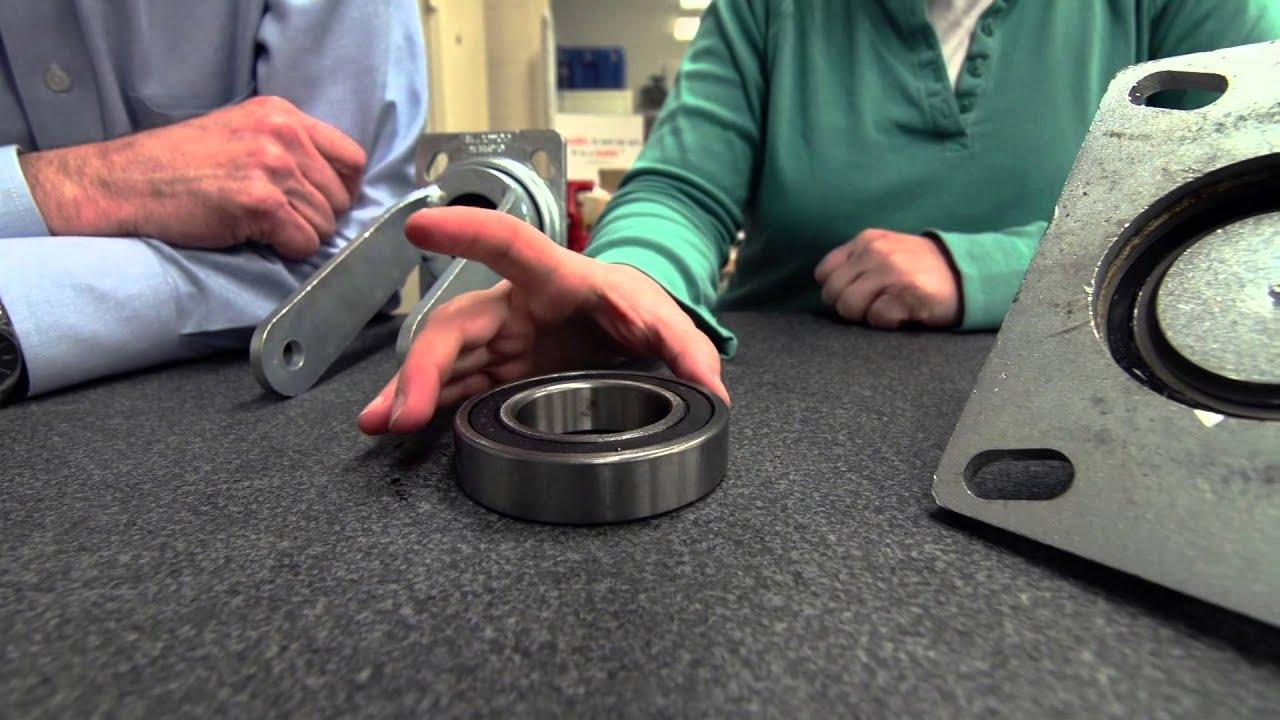 ErgoMaxx Maintenance Free Ergonomic Casters